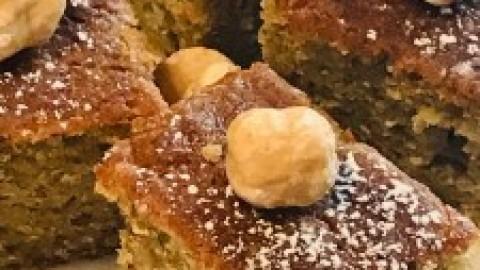 ZUCCHINI SWEET CAKE