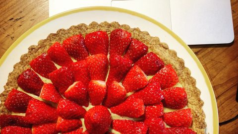 CROSTATA INTEGRALE ALLE FRAGOLE