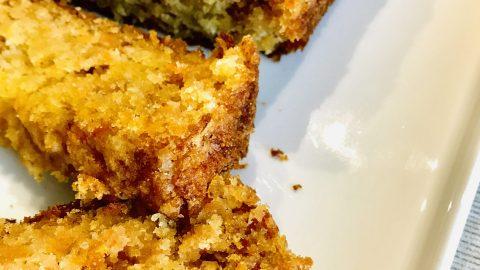 PLUM CAKE CON CAROTE, COCCO E MELE