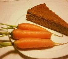 TORTA DI CAROTE LIGHT (No glutine, latticini, zucchero semolato e frutta secca)